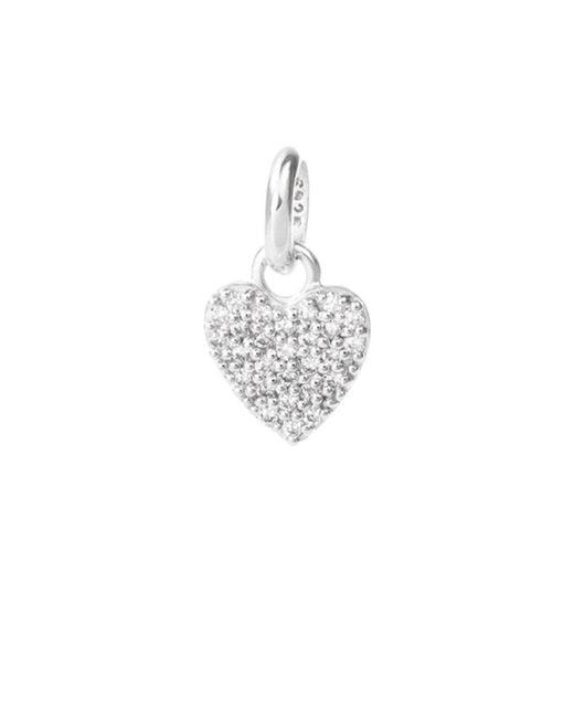 KIRSTIN ASH - Metallic Bespoke Crystal Heart Charm - Lyst