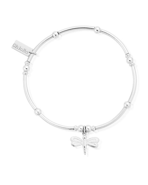 ChloBo - Metallic Mini Noodle Ball Bracelet With Dragonfly - Lyst