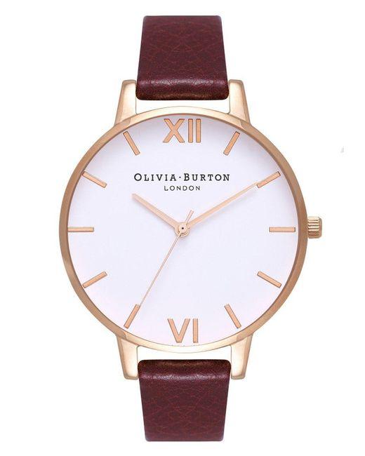 Olivia Burton - Multicolor Big White Dial Watch - Lyst