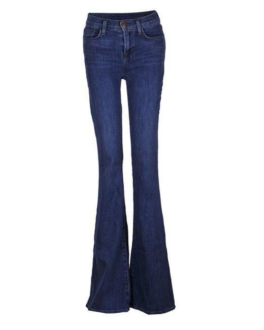 J Brand - Blue Valentina Jeans - Lyst