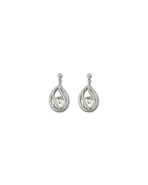 Swarovski | Metallic Megan Earrings | Lyst