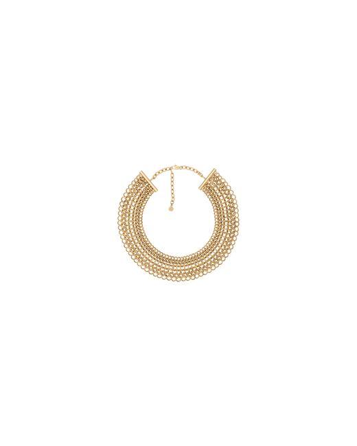 Michael Kors | Metallic Haute Hardware Goldtone Statement Collar Necklace | Lyst