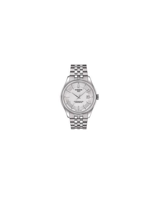 Tissot   Metallic Analog Ballade Stainless Steel Bracelet Watch for Men   Lyst