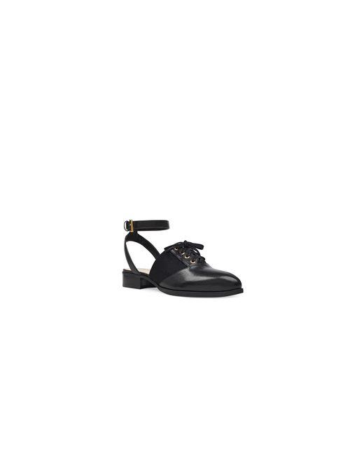 Nine West | Black Ankle Strap Oxfords | Lyst