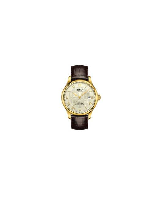 Tissot | Brown Le Locle Leather Strap Watch for Men | Lyst