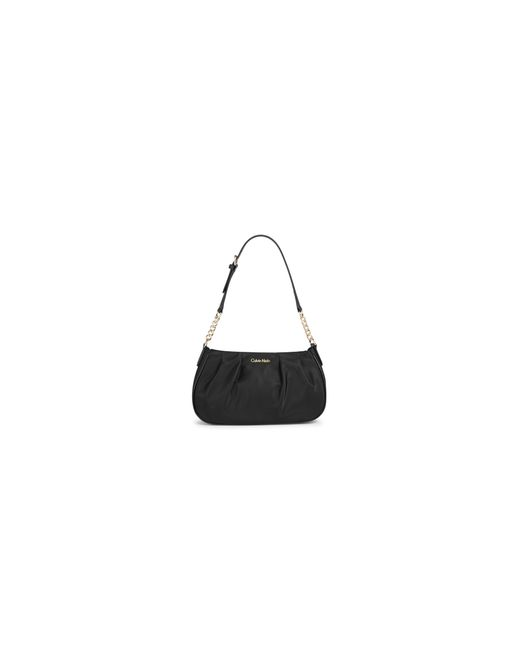 Calvin Klein | Black Florence Nylon Demi Shoulder Bag | Lyst