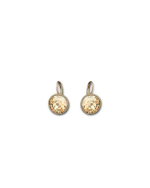 Swarovski | Metallic Bella Crystal Pierced Earrings | Lyst