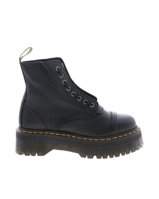 Dr. Martens Sinclair Aunt Sally Boots In Black