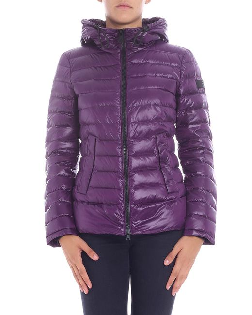 "Peuterey - ""utah"" Purple Down Jacket - Lyst"