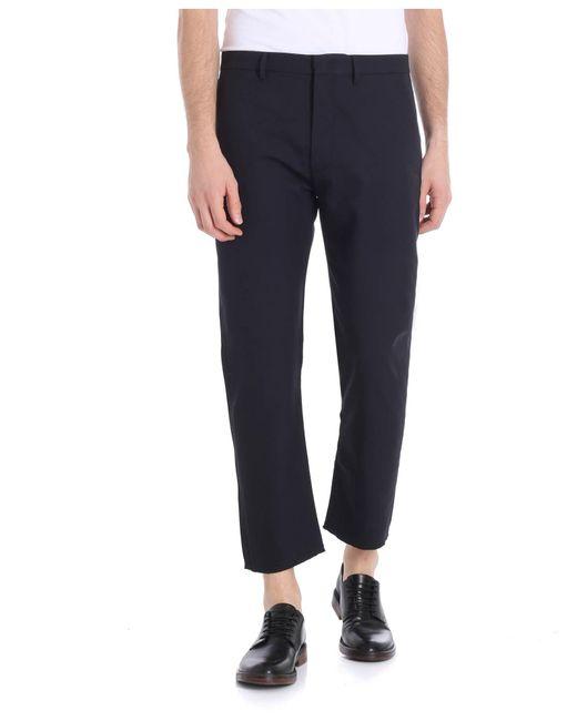 Pence - Blue Baldo Trousers for Men - Lyst