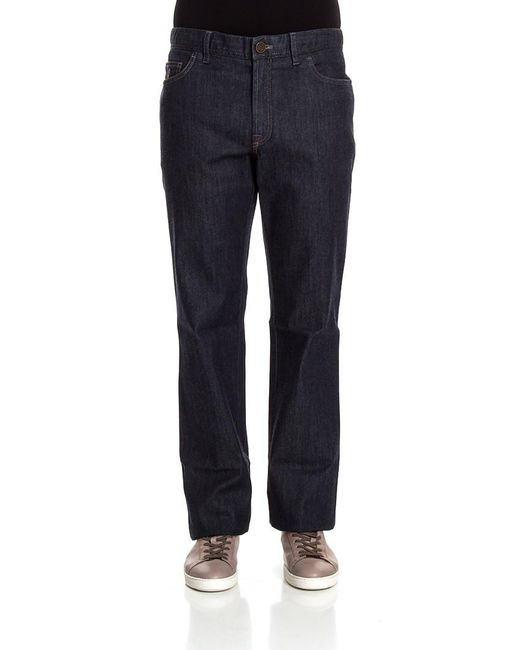 Brioni - Blue Five Pockets Jeans for Men - Lyst