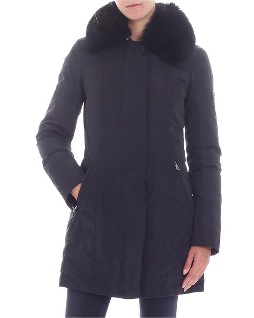 "Peuterey - ""metropolitan Gb"" Black Down Jacket - Lyst"