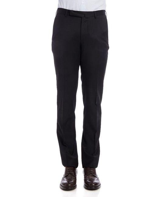 Ermenegildo Zegna - Blue Cool Wool Trousers for Men - Lyst