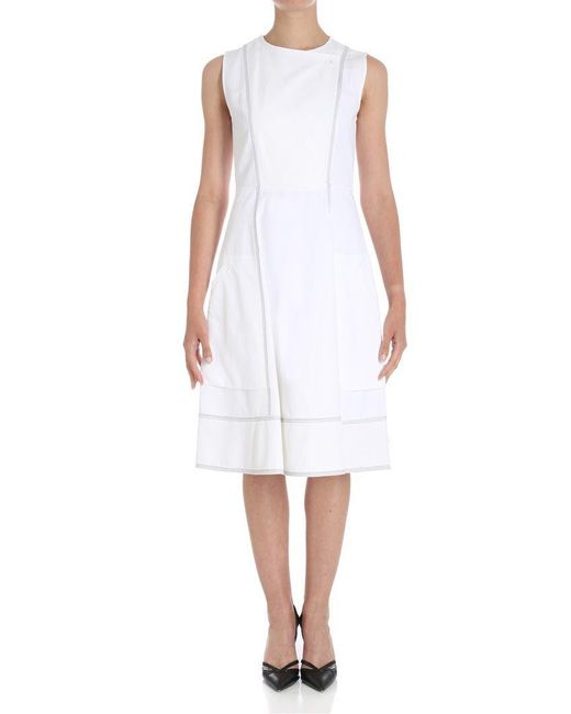 Sportmax - White Egadi Dress - Lyst