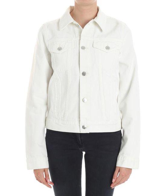 Helmut Lang - White Denim Jacket - Lyst