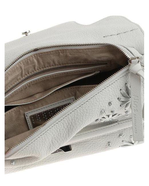 Beige Nina S bag - Pure Cashmere Line Zanellato Y7N7vs2j