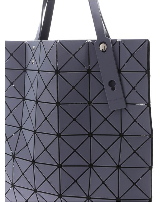 6d9e8fb9ad ... Bao Bao Issey Miyake - Lucent Frost Gray Bag With Triangle Pattern -  Lyst ...