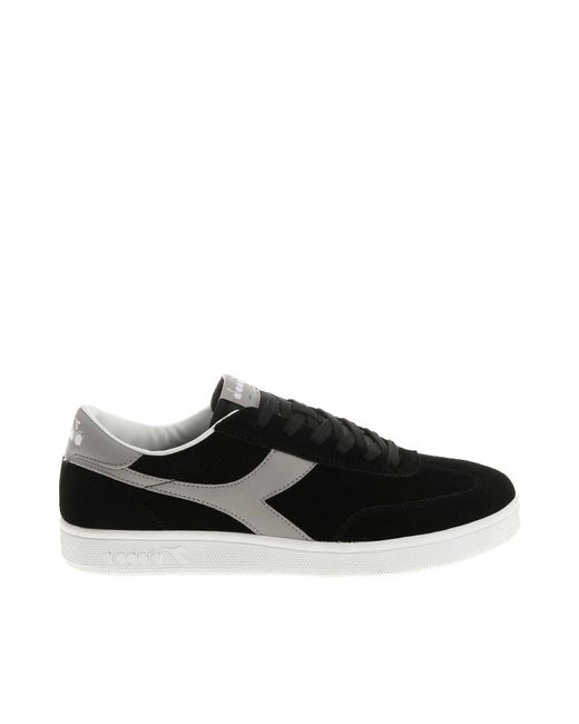 Diadora - Black Field And Gray Sneakers for Men - Lyst