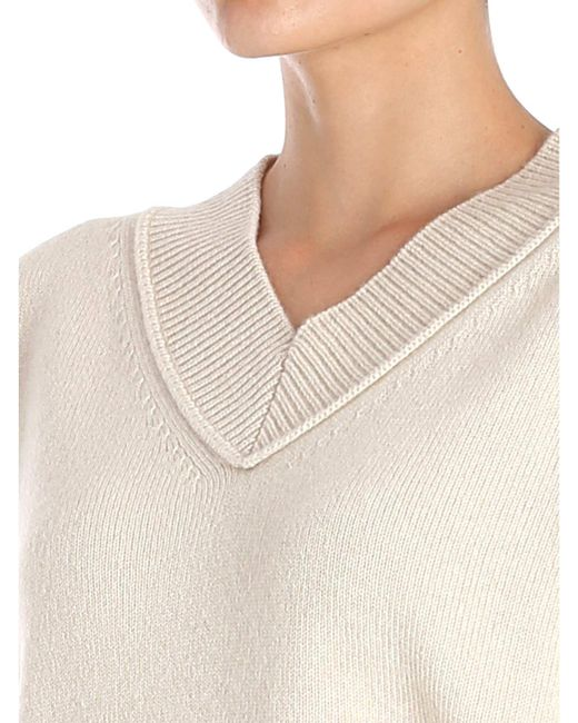 Beige Pullover Lyst In Overfit Helmut Natural Lang xRqW8w6Ca