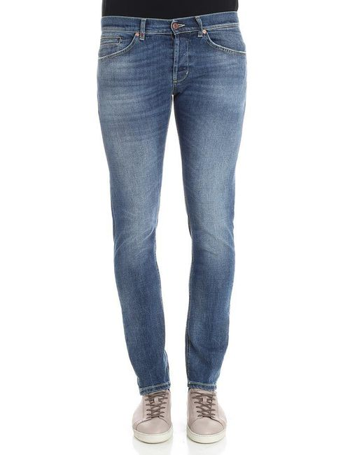 Dondup - Blue George 5 Pocket Jeans for Men - Lyst
