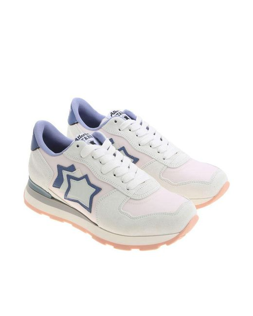 Atlantic Stars - Blue Ice Color And Pink Vega Sneakers - Lyst