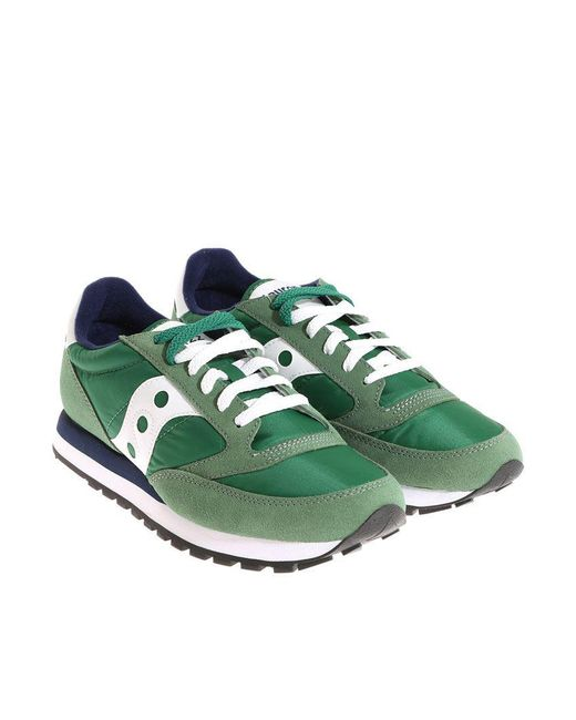 Saucony - Green Lace-up Sneakers for Men - Lyst