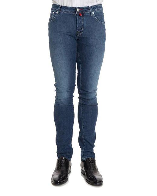 Jacob Cohen - Blue 5 Pockets Jeans for Men - Lyst