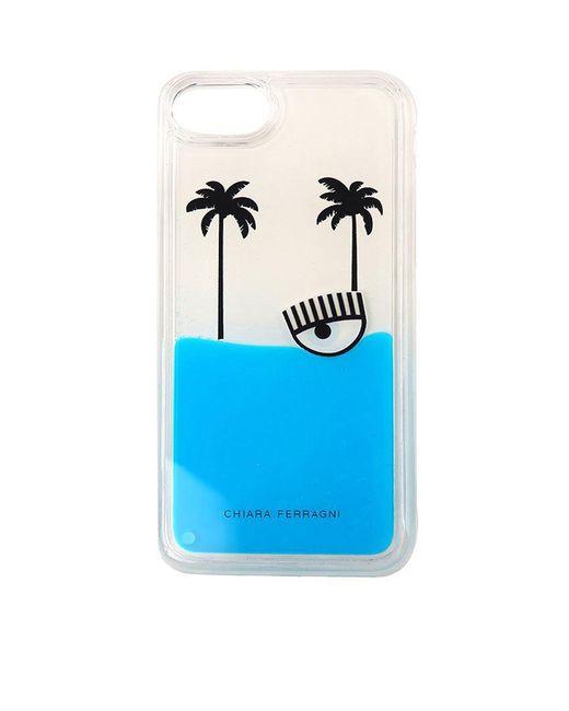 Chiara Ferragni - Blue Palms Beach I-phone 8 Cover - Lyst