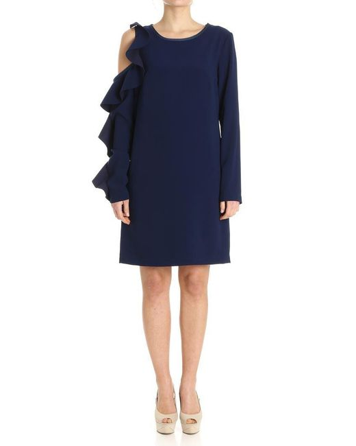 Pinko - Blue Immortalare Dress - Lyst