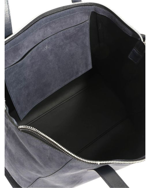 fb6aeb65f5 Hogan Blue Shopping Bag in Blue - Lyst