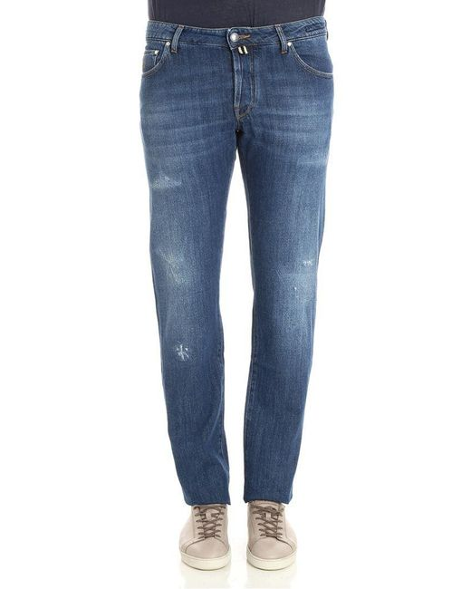 Jacob Cohen - Blue Nick Jeans for Men - Lyst