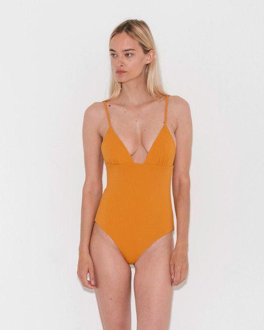 Mara Hoffman - Orange Virginia One Piece - Lyst