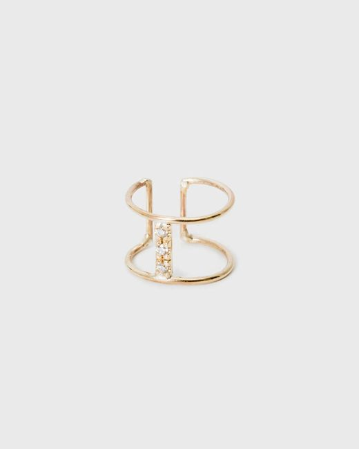 Loren Stewart | Metallic Diamond Bar Ear Cuff | Lyst