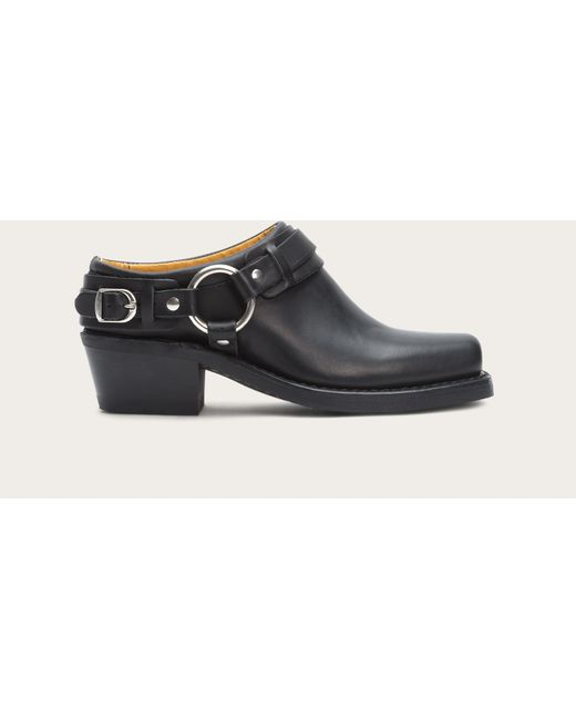 Frye | Black Belted Harness Mule | Lyst
