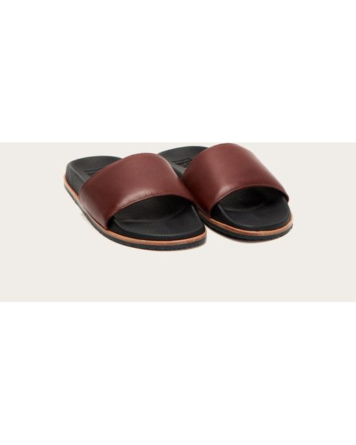fb618990153 Lyst - Frye Emerson Slide in Brown for Men - Save 50%