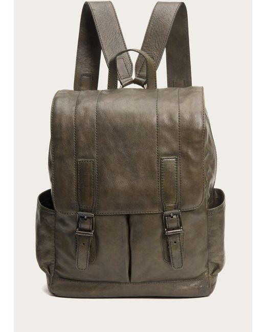 31e8db5c0e316 Lyst - Frye Oliver Backpack in Green for Men - Save 45.819397993311036%