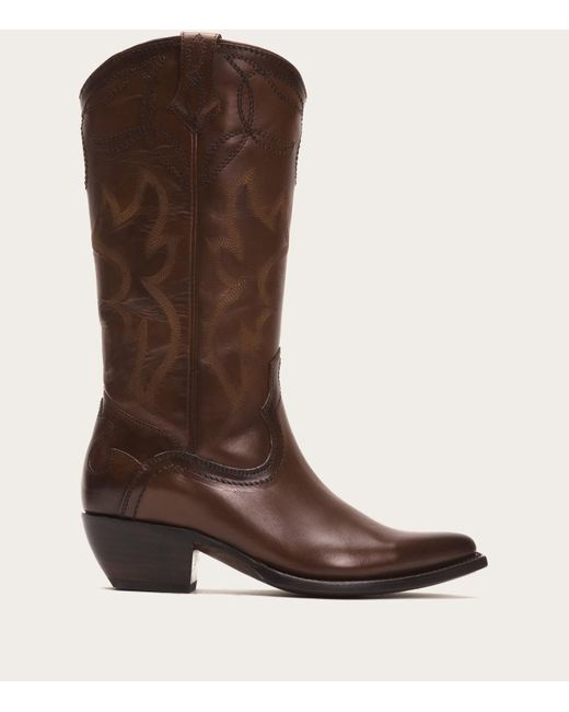 Frye | Brown Shane Embroidered Tall | Lyst