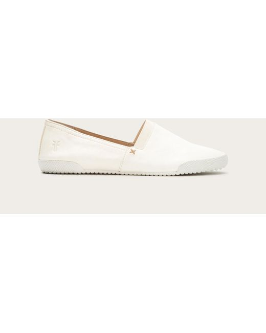 Frye | White Melanie Slip On | Lyst