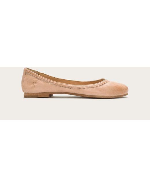 Frye - Natural Carson Ballet - Lyst