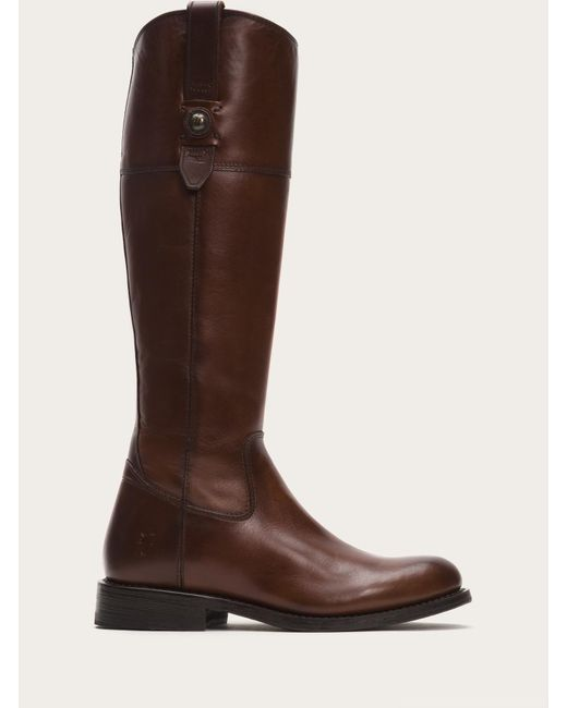Frye | Brown Jayden Button Tall | Lyst