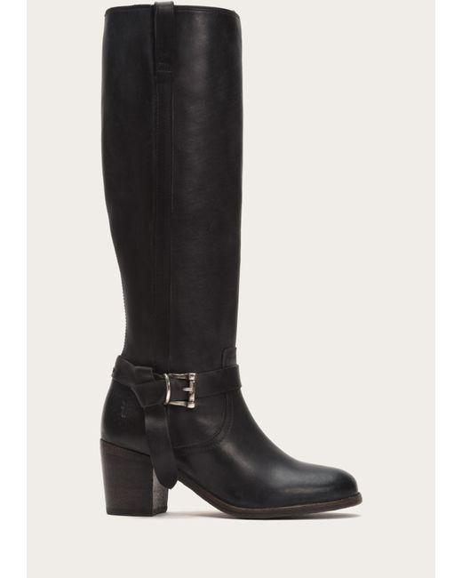 Frye | Black Malorie Knotted Tall | Lyst