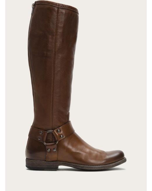 Frye - Brown Phillip Harness Tall - Lyst