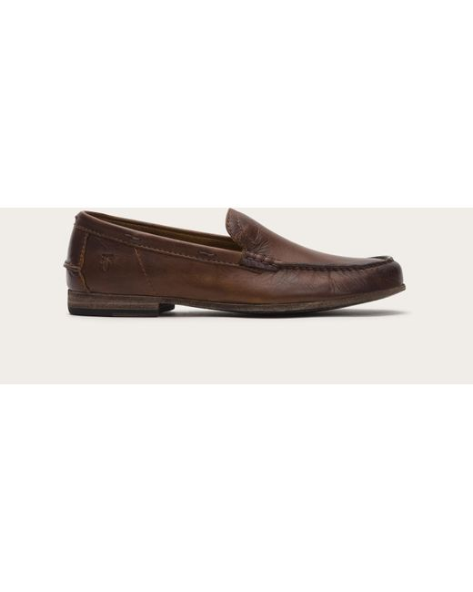 Frye | Brown Lewis Leather Venetian for Men | Lyst