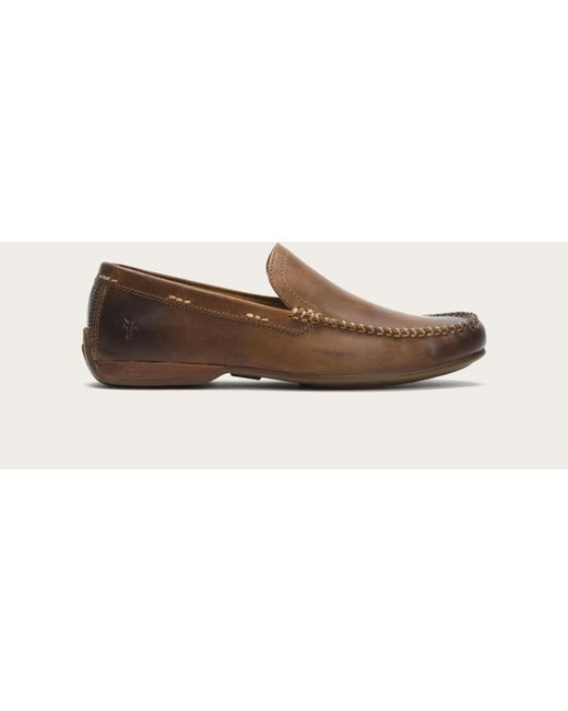 Frye | Brown Lewis Venetian for Men | Lyst
