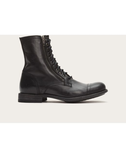 Frye | Black Tyler Double Zip for Men | Lyst