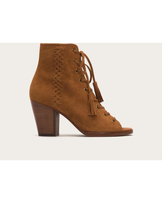 Frye | Brown Dani Whipstitch Lace | Lyst