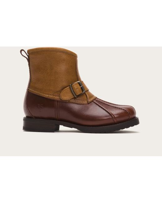 Frye | Brown Veronica Duck Engineer Shearling for Men | Lyst
