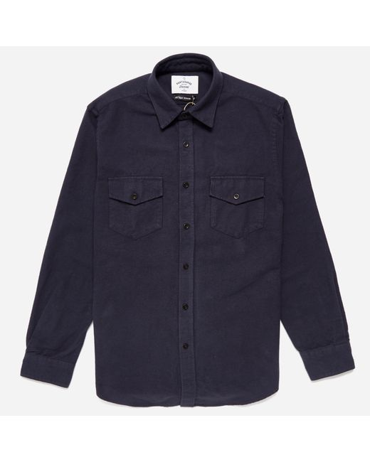 Portuguese Flannel | Blue Campo Shirt for Men | Lyst