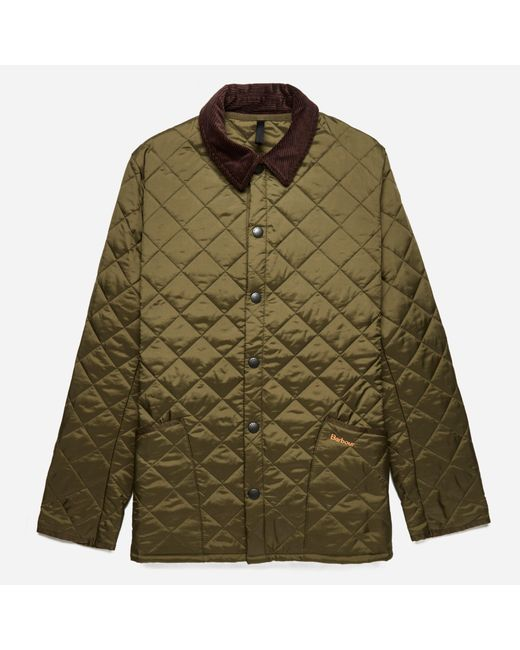 Barbour   Green Heritage Liddesdale Quilted Jacket for Men   Lyst