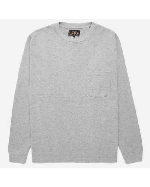 Beams Plus | Gray 25/2 Jersey Crew Pocket T-shirt for Men | Lyst